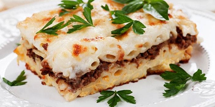 Griechischer Nudelauflauf Pasticcio Rezept | Taste of Koroni